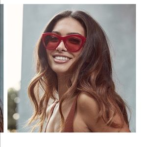 Red MVMT sunglasses